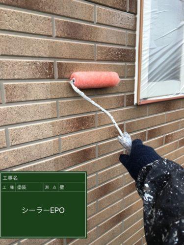 京都 外壁塗装(サイディング)多彩工法 施工の様子① l  京都府 宇治市 外壁塗装 屋根塗装 雨漏り 専門店 塗り達
