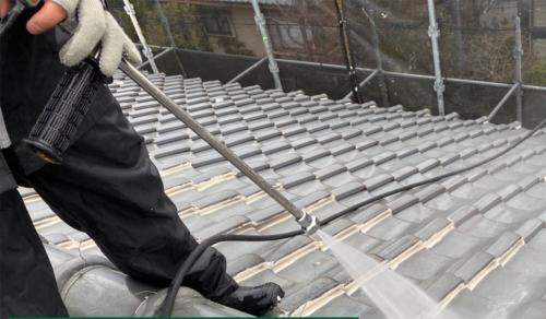 屋根漆喰 補修