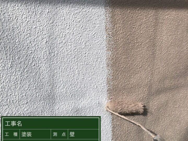 ④壁 上塗り1回目