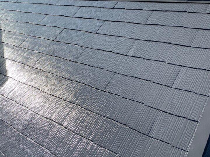 ⑧屋根塗装 施工完了