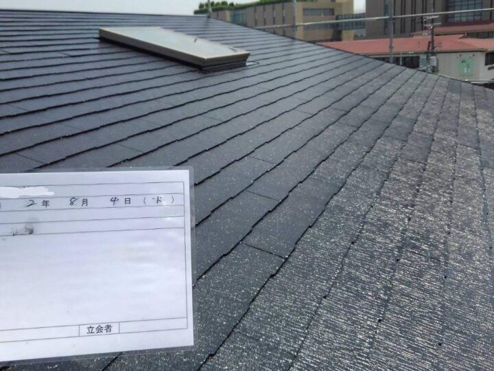 ⑦屋根塗装 完了