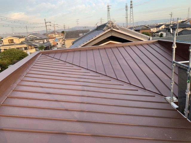 ⑤屋根カバー工法 施工完了