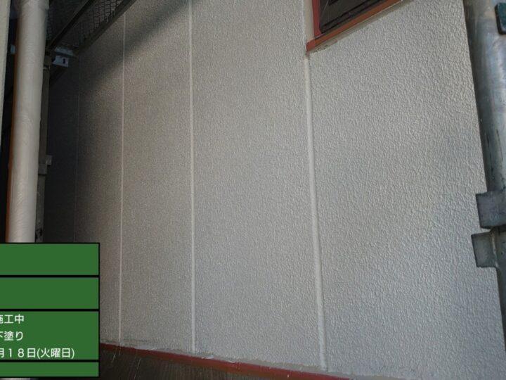 ③外壁塗装 下塗り