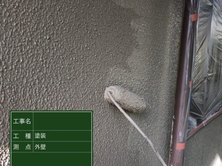 ⑥外壁 弾性スーパ-セラタイトF半艶 2回目
