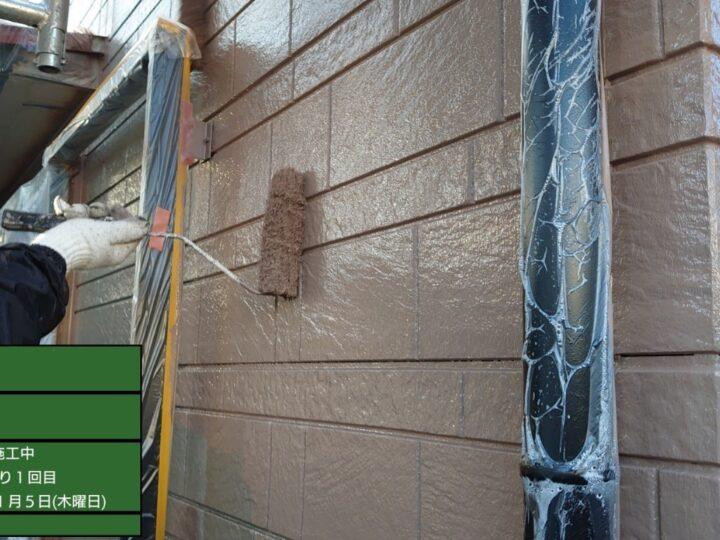 ③外壁 上塗り1回目