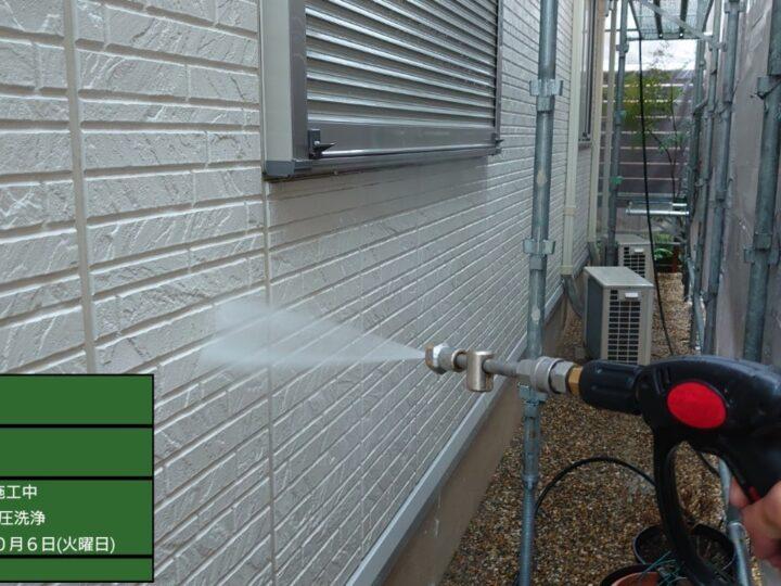 ②壁 高圧洗浄