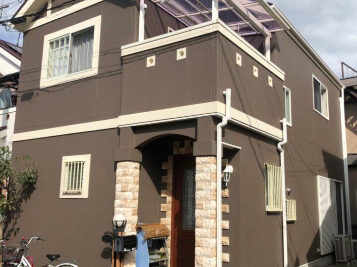 長岡京市 H様 |京都市、宇治市、八幡市の外壁塗装&屋根塗装&雨漏り専門店【塗り達】