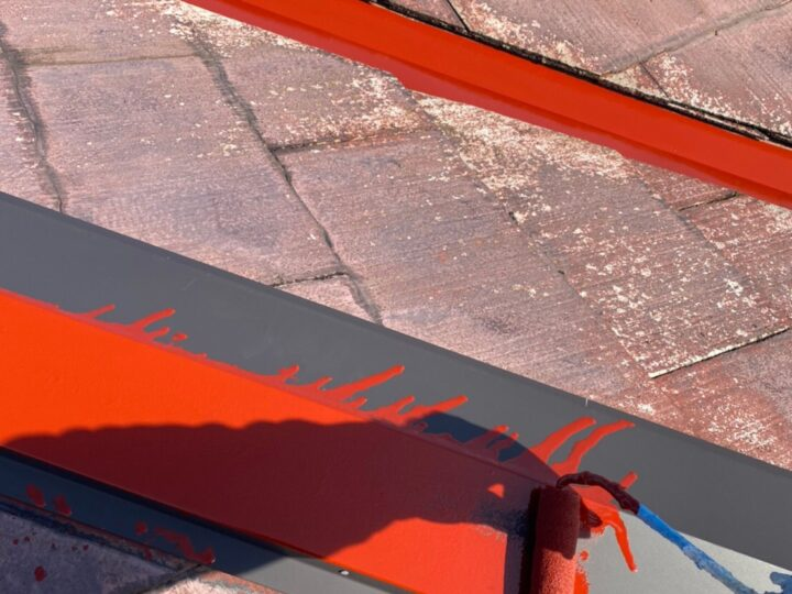屋根板金 さび止め