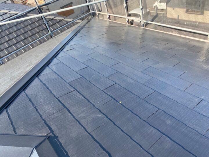 屋根 施工完了