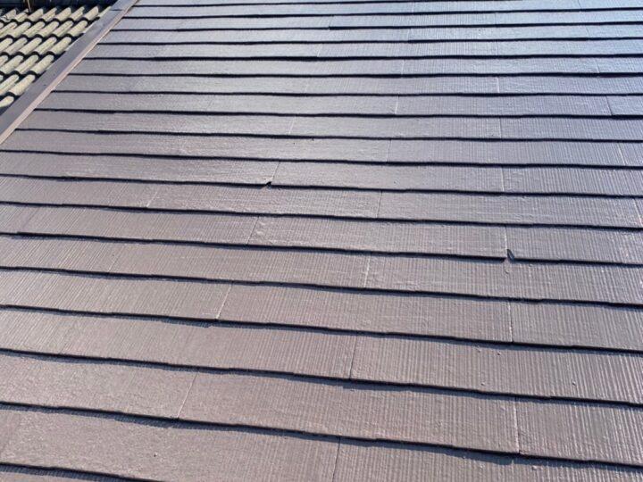 屋根塗装 上塗り 施工完了
