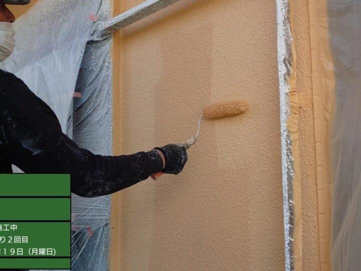 外壁(モルタル面)上塗り