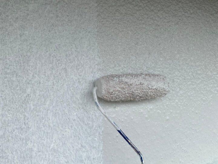 外壁 修繕 中塗り