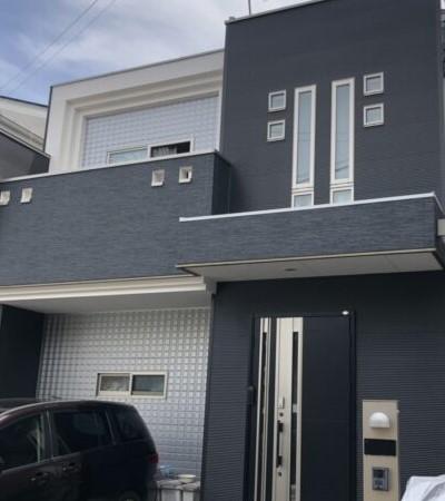 外壁塗装の人気色 ブラック