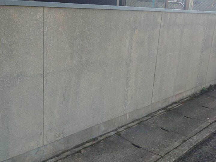 ブロック塀の写真