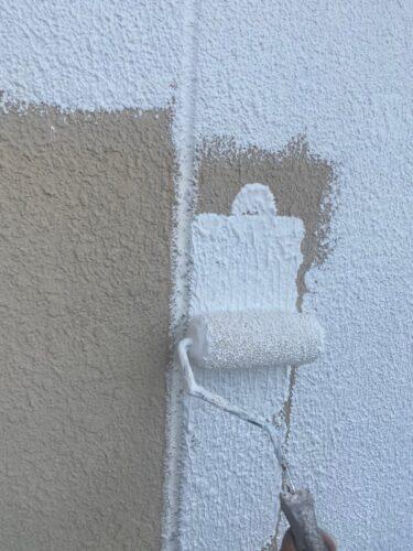 外壁塗装 下塗り工程