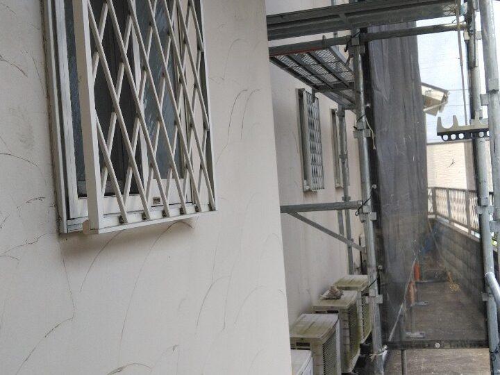 モルタル外壁 施工前