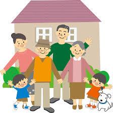 家と家族の様子